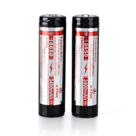 XTAR 18650 Rechargeable Protected battery