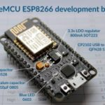 2nd generation ESP8266 NodeMCU development board